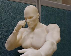 3d BJD man -ball Jointed doll 3D print model