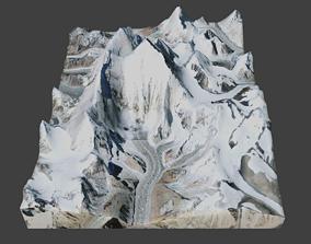 Everest Mountain 3D model