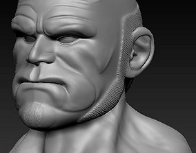 3D printable model hellboy head