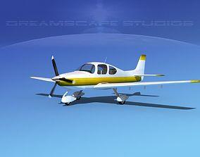 Cirrus SR22 V07 3D model