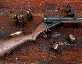 3D model M79 grenade launcher guns