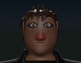 3D model Male Ninja
