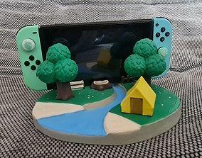 3D print model Animal Crossing Nintendo Switch Dock