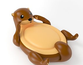 Inflatable Otter 3D