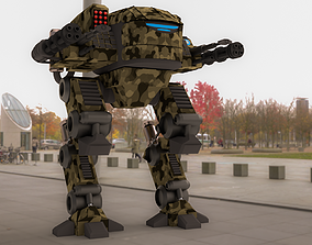 Fronline Mech Warrior 3D model