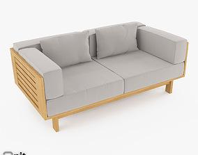3D model Skargaarden Falsterbo outdoor sofa