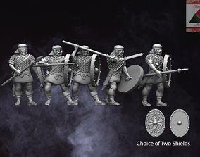 3D printable model 28mm Roman Auxiliary Infantry