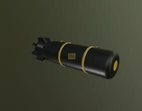 Bomb Military 3D Model VR / AR ready