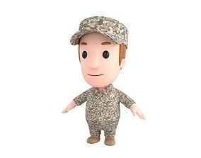 3D model Little People 009