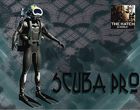 3D Scuba Diver Pro