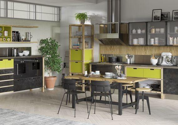 3d visualization of kitchen
