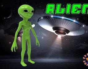 Alien alien 3D printable model
