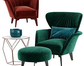 3D Bonaldo Lovy armchair