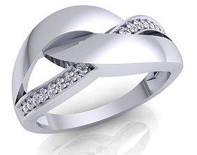 3D printable model Woman Ring 06