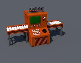 machine 3D printable model Factory