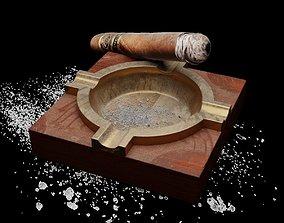 Cigar model 3D
