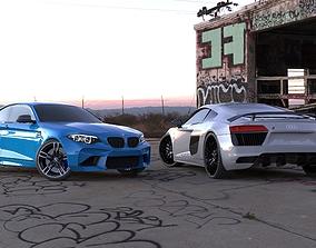 3D 2 cars pack