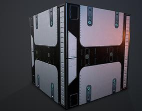 3D Futuristic PBR Textures P5
