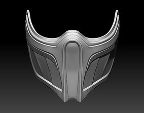 Sub Zero mask for cosplay Mortal 3D printable model 2