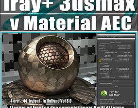 Iray piu in 3dsmax 2017 vMaterial AEC Vol 8 Cd
