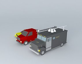 3D model More cars for you!