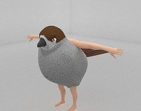 3D asset SPARROW-MAN