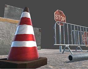 3D model Explosion proof walls
