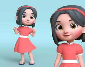 3D asset Mini Cartoon Character