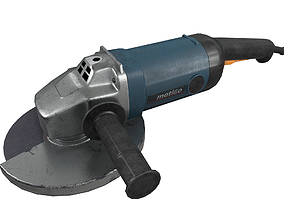 3D model Angle Grinder Used Dirty