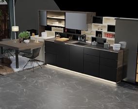 modernkitchen 3D model Modern kitchen