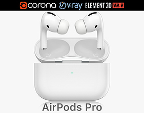 Apple AirPods Pro 3D