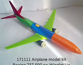 171111 Boeing 737-900 no Winglet Up 3D printable model