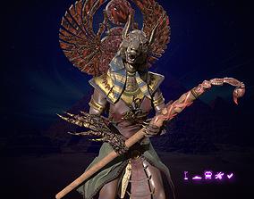 3D asset Seth god of egypt