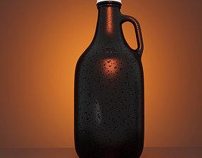 Glass Beer Cider Growler Jug 3D Model