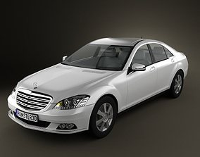 Mercedes-Benz S class 3D model