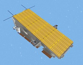 3D model NovaSAR-1 Earth Observation Satellite