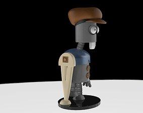 3D robot futurama
