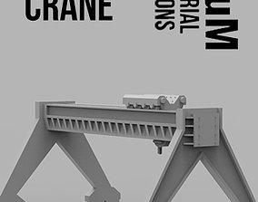 Port Crane 3D print model