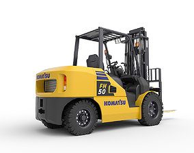 Forklift Komatsu FH50 3D