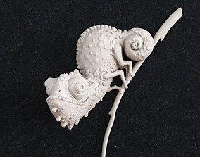 Chameleon 2 3d print model