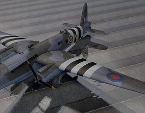 3D model Vickers Warwick ASR-1