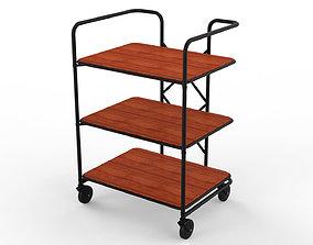 Generic Cart Kitchen Transport 02 3D model