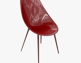 3D model Chair Kartell Lago By Philippe Starck