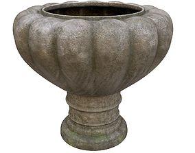 3D asset Flowerpot - Garden Planter - PBR Game-Ready