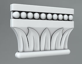 3D model decor Pilaster Capitals