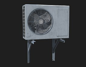 3D model technology Air conditioner