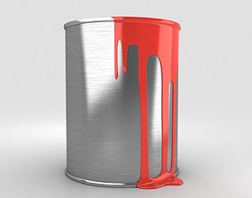 3D model Paint Can can