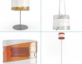 3D Riflessi Lamps Collection Av Mazzega