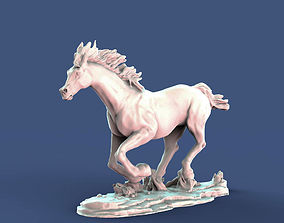 3D printable model Galloping horse arab breed