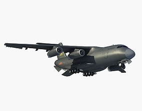 Y-20 China Transport Plane 3D